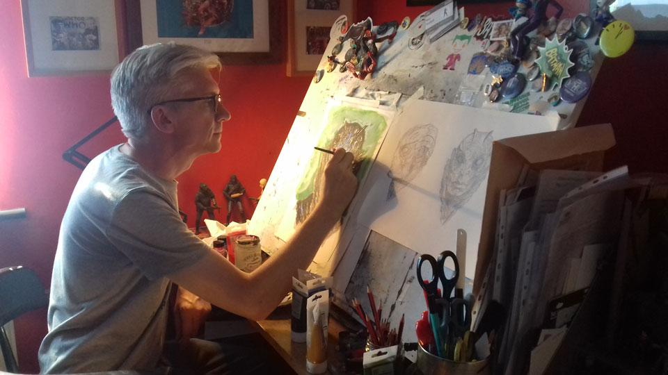Paul Pickford, illustrating monsters