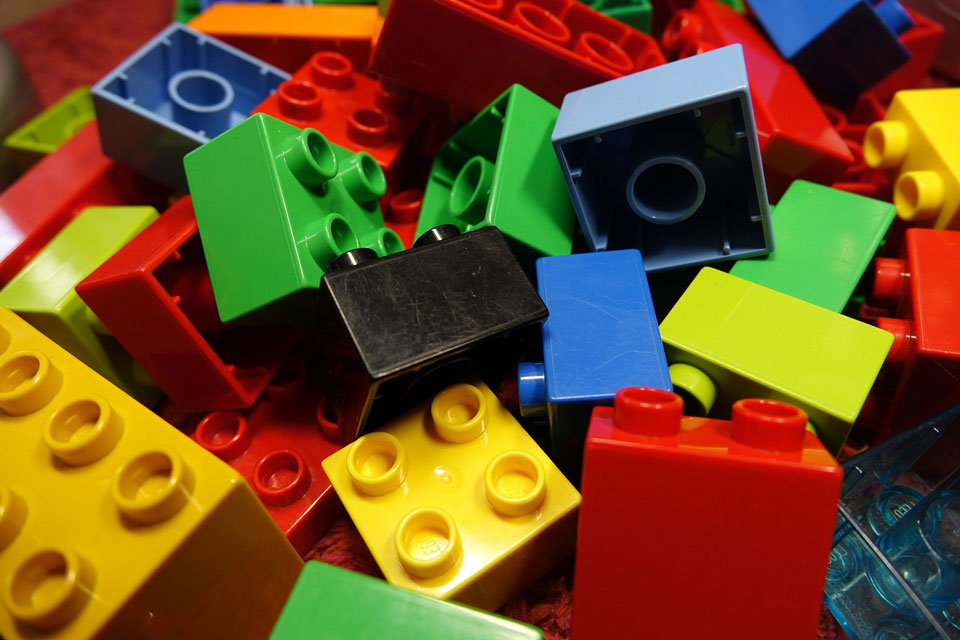 Pile of Lego