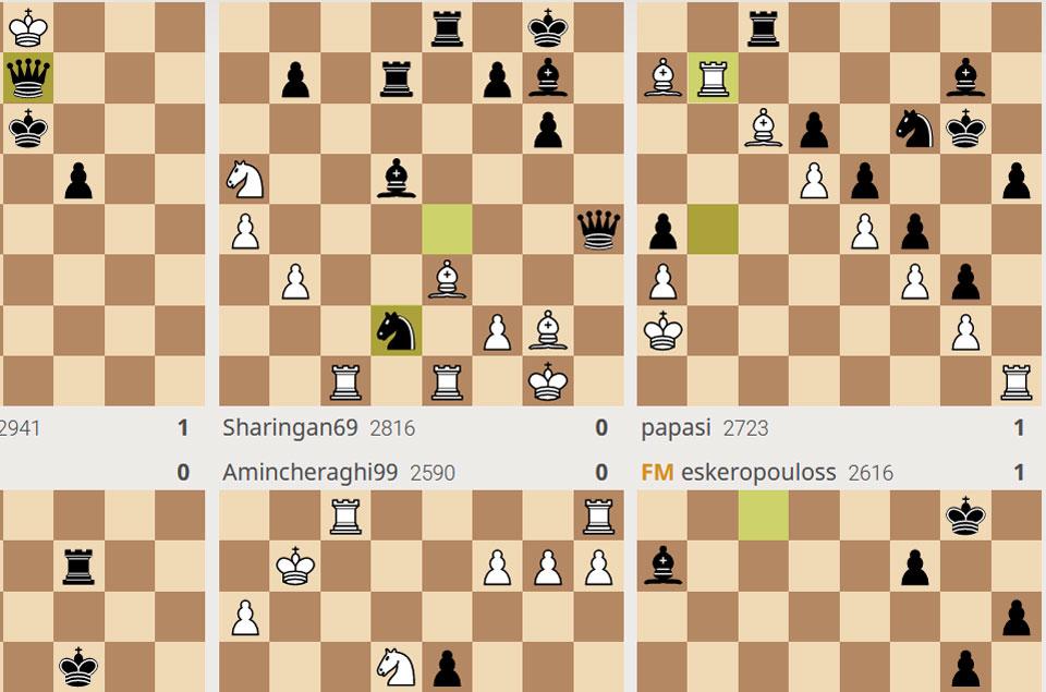 Lichess chessboards